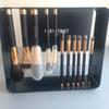 PONY EFFECT Magnetic Brush set -11pcs brushes & Metal Frame & Plate- High Quality Beauty makeup Blender