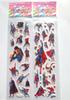 Hot!100sheets Superman wall stickers, superhero Superman stickers Kids room decor stickers,for Kids Birthday Gift toys sticker