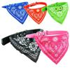 Adjustable Pet Dog Cat Bandana Scarf Collar Neckerchief Dog Bandana Triangle Scarf Collars Pet Cat Puppy Collars Fashion Dog Necklaces Pet S