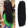 Refined Synthetic Braiding Hair 18Inch 90 Roots Pack 200G Crotchet Braids 1 Piece Only 8 Colors Crochet Hair Extensions