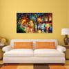 100% Hand Paint Modern Palette Knife Landscape Oil Painting on Canvas High Quality Home Decor Presents JL067