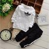 Hot sale Brand Baby Tracksuits Spring Autumn Baby Boy Girl Cotton Full sleeved Jacket+pants 2pcs sets Boys Kid Clothing Set Baby Set