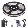 LED Strip Lights SMD 5050 Waterproof 16.4ft 5M 300leds RGB Color Changing Flexible LED Rope Lights with 44 Key Remote