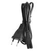 Short C7 To EU European 2-Pin Plug AC Power Cable Lead Cord 1.5M 5Ft Figure 8