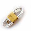 1m 60 개 전선 화이트 마이크로 USB 케이블