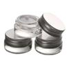 5g high quality glass cream jar with aluminum lid,5ML wide mouth cosmetic container,eye cream cosmetic packaging