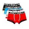 Factory Sexy cotton boxers men shorts breathable underwear panties M-XXL Plus size black white blue red free shipping