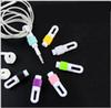 For Apple ipod iphone Earphone Plastic& silicone Headphone Cable Protector Protect Case Cord earphones cable Mix color