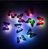 New arrival Beautiful Butterfly LED Night Light Lamp with Suction pad for Christmas Wedding Decoration Night Lamp S