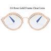 C6 Rose Gold Rahmen Clear Lens