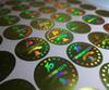 laser sticker silver golden hologram sticker