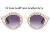 C2 Rose Gold Rahmen Gradient Grau