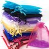 7*9cm 35*50cm Christmas Gifts Wrap Bags Jewelry Organza Bags Event Candy Pouches Home Party Decoration Crafts Pack Festive Supplies TY7-61