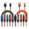 3FT 6FT 10FT Braided Copper Micro USB Charger Sync Data Cable Cord for Samsung Galaxy s4 s5 for All Cellphone