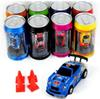 RC Car 8 color Mini-Racer Remote Control Car Coke Can Mini RC Radio Remote Control Micro Racing 1:63 Car DHL Free