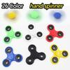 HandSpinner Fingertips Spiral Fingers Fidget Spinner EDC Hand Spinner Acrylic Plastic Fidgets Toys Gyro Toys With Retail Box