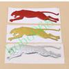 100pcs lot Car Vehicle Decoration Running Leopard Stickers Stero Personality Exterior Accessories AUTO BODY DECAL DIY