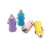 usb car charger 5v 1a single usb port car usb power adaptor ic solution bullet shape free shiipping