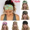 2017 New Women Headbands Bohemia Fabric Printed Sports Hairband Fashion Yoga Stretch Headbands Lady Bandana Head Wrap 17 Style WX-H15