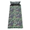 Wholesale- Hot Self Inflating Camping Roll Mat Pad Sleeping Bed Inflatable Pillow Mattress +Bag