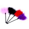 26CM 4 Color Purple Flirting Feather Teasing of the clitoris Spanking Erotic Sex Products fetish BDSM women Sex Toys For Couples