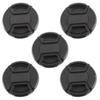 Wholesale-Hot Selling 5pcs 52mm center-pinch Front Lens Cover Cap for all 52mm lens Filter
