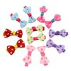 "Hot Selling 1.7"" Cute Ribbon Hair Bows With Clip Baby Girl Boutique Hair Bows Toddler Hairpin Baby Hair Accessories"