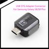 2017 Newest s8 Type-C to USB OTG Adapter Connector for Samsung Galaxy S8 S8 Plus