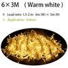 6x3M Warm White
