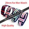 14mm 17mm 18mm 19mm 20mm Nylon Watch Strap Belt High Qualtiy
