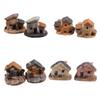 Wholesale- Doll House Micro Miniature Decoration Stone Dollhouse House Fairy Garden Cottage Landscape DIY Design Crafts 4 Types