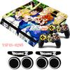 Dragon Ball Z GOKU Hero Series Skin Vinyl Sticker PS4 Slim Protective Skin Decal +GIFTS For Playstation 4 Slim Console