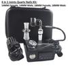 Banger E Quartz Nail Electric Dab Nail Box Kit Quartz Nail Carb Cap 14 18 MM Male Temperature Controller Rig glass Bongs