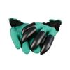 Garden Genie Gloves With Fingertips Claws Green Dig and Plant Safe Pruning Gloves Garden Waterproof Digging Gloves Free Shipping