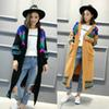 Wholesale- Free shipping fashion Autumn and winter new low-cost sweater knit cardigan new autumn and winter national wind knit cardigan