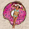 Summer Round Beach Towels Quick Drying outdoors Sports Swimming Towel Camping Bath Yoga Mat Blanke shawl Swimwear