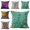Indian Dreamcatcher Never Stop Dreaming Pillow Case Cushion cover Linen Cotton Throw Pillowcases sofa Bed Pillow covers Drop shipping 240452