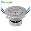 Wholesale- 15W 5x3W Ceiling Downlight Epistar chip LED ceiling lamp Recessed light 85V-245V for home illumination 5pcs lot