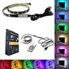 Waterproof 5V LED Strip Light 0.5m 100CM(3.28Ft) 2m 30leds Flexible 5050 RGB TV Backlight USB Cable And Mini Controller
