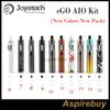 Joyetech eGo Aio Kit All-in-one Style Device with 1500mAh Battery and 2ml e Liquid illumination LED 10 New Colors New Arrivals New Pack
