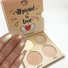 New Brand Aurelife 4 Color Too Matte Eye Shadow Palette for Faced Nake Makeup Set for Glow Illuminating Kit Eyeshadow