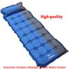 Newest Automatic Outdoor Inflatable Cushion Widen thicken Single Person Pad Sleeping Bed Camping Air Mattress 63*186*5CM WX-P02