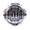 2 Pcs 7 Inch Led Car Headlights Automobiles Angel Eyes H4 LED Turn Signal DRL Round Headlamp For Jeep Wrangler Hummer Land Rover