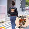 New Fashion Tiger Letters Patch Embroidery Iron On   Sew on Patches For Clothes Dress Jean Jacket Appliques Badge DIY Clothing Decor AA