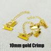 10mm Crimpgold