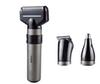 3 in 1 Multifunction Reciprocating Electric Shaver Rechargeable Electric Shaving Razors Nose Trimmer Beard Trimmer Washable Men Face Care