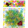 Fashion Children Colorful Eastic Hair Rubber Hairband Girls One-time Hair Loop Kids Hair rope Mix Colors