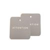 Customized Coated Paper Clothing Tag Label Crafts Gift Label 3.5 * 4cm paper tags free shipping