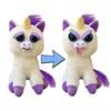 "Pets: Glenda Glitterpoop the Unicorn - Goes from ""Awww"" to ""Ahhh!"" with a Squeeze Sammy Suckerpunch- Adorable 8.5"" Plush Stuffed Dog"