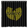 "Wholesale- Bathroom Products Polyester Fabric Wu-Tang Clan Printed Shower Curtains Waterproof Washable Curtain 72""*72"" 12pcs Hooks"